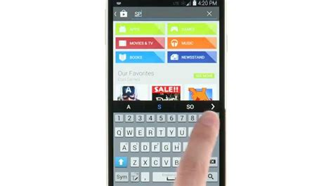 Play Store Or Samsung Apps How To Use Play Store App Samsung Galaxy S5