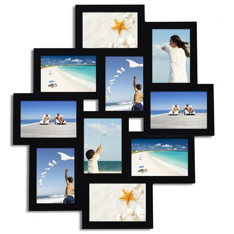 photo collage picture frame adeco 10 opening collage picture frame pf0171