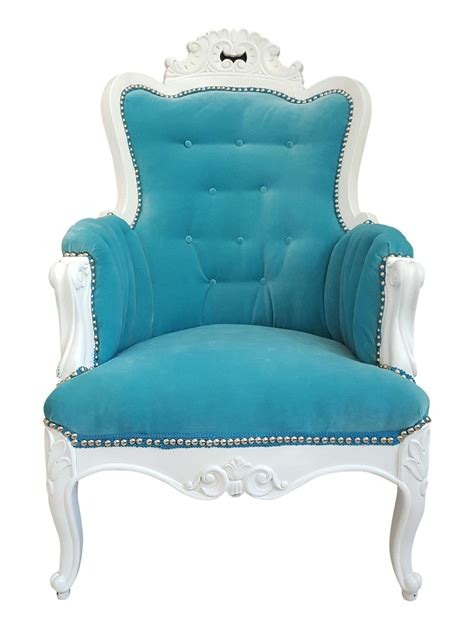 Turquoise Accent Chair Antique Turquoise Velvet Accent Chair Everything Turquoise