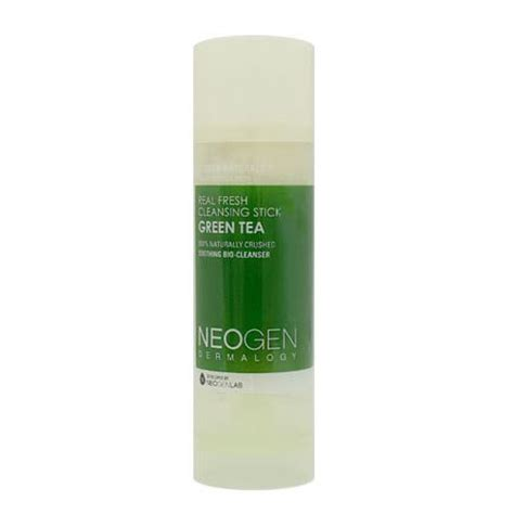 Neogen Real Fresh Green Tea Cleansing Stick 80gr neogen real fresh cleansing stick green tea neogen makeup cleansing shopping sale koreadepart