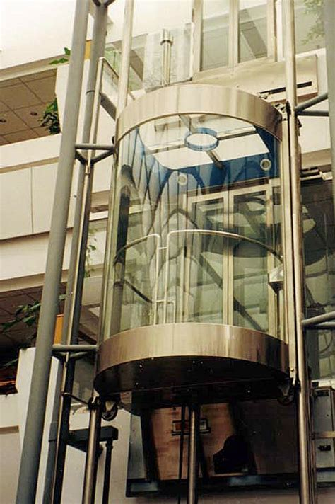 Lift Penumpang Gedung lift kaca elevator escalator