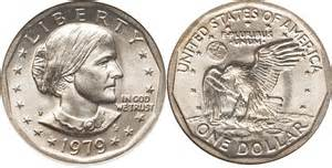 susan b anthony dollar value 1979 99 coin values