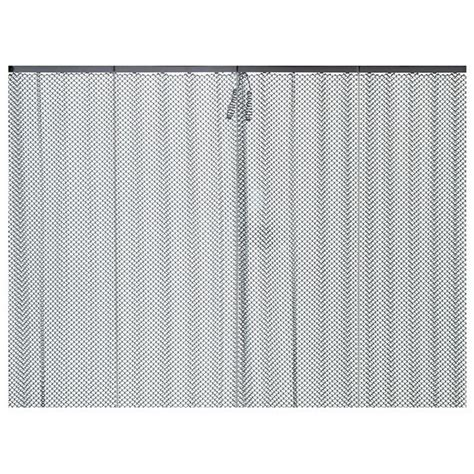 mesh drapes replacement fireplace mesh curtains