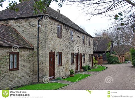 Georgian Cottage Style by Modern Georgian Style Cottages Stock Photo Image 63253656