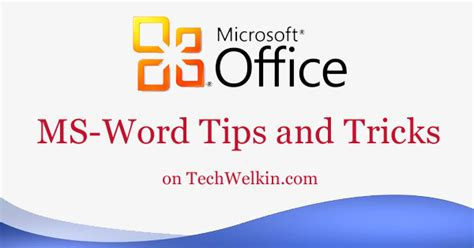 The Best Tips Trick Ms Office Word Arista Prasetyo Adi 34 microsoft word tricks and tips to increase productivity