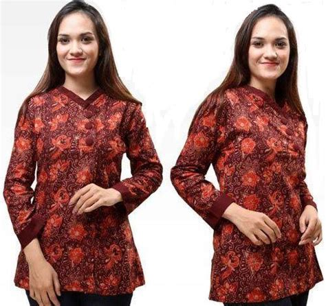 Pusat Batik Murah Elegan 461 baju kantor untuk wanita rachael edwards