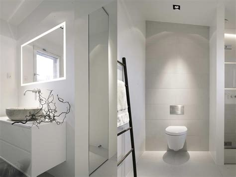 White Modern Bathrooms White Whiter Whitest