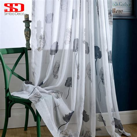 black and white sheer curtains online get cheap black sheer curtains aliexpress com