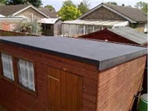 Felting A Flat Shed Roof by Tonbridge Firestone Rubber Shed Roofers Kent Tn Tn9 Tn10
