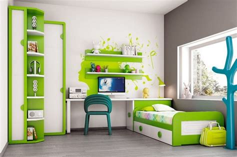 white green modern bedroom furniture home interiors