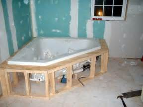 how to install a tub