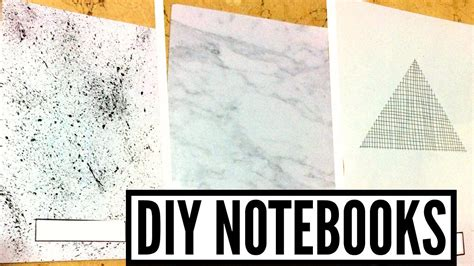 tumblr themes notebook diy black white tumblr notebooks geometric marble and