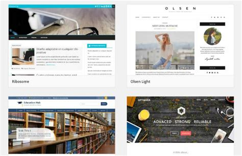 21 best free wordpress themes for 2018 blog business