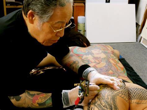 famous tattoo artists in japan tattoos are not just for yakuza anymore japan