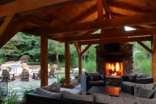 Enclosed Outdoor Rooms - outdoor rooms traditional patio other by custom fire art llc