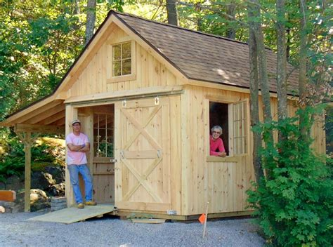 Shed Vermont by Vermont Sheds And Barns Custom Built On Site Vermont Custom Sheds