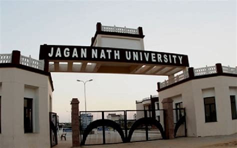 Jnu Fee Structure For Mba by Fees Structure And Courses Of Jagan Nath Jnu
