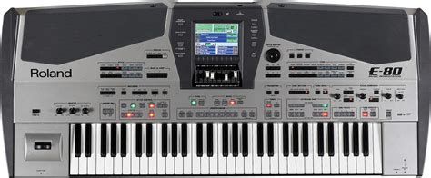 Keyboard Roland E 50 roland e 80 workstation keyboard