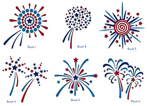 CME 4th of July Freebies!   Creative Machine Embroidery