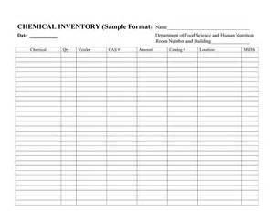 chemical inventory template best photos of sle inventory spreadsheet sle