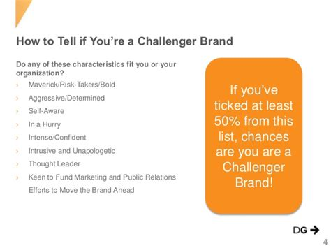 brand challenger challenger brands slideshare by directiongroup