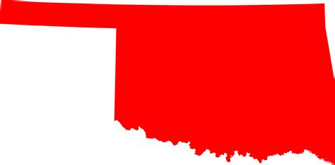 Of Oklahoma Search File Map Of Oklahoma Highlighting Oklahoma County Svg Facts For Kidzsearch
