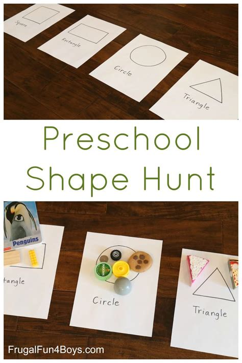 pattern games for 3 year olds preschool shape scavenger hunt learning activities