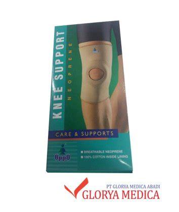 Knee Support Penyangga Lutut Tanpa Lubang Oppo 1022 jual knee support oppo harga murah glorya medica