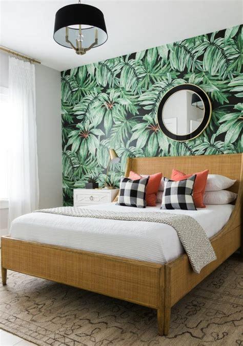 chambre avec papier peint awesome with chambre a coucher avec papier peint