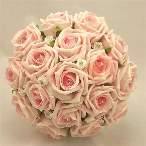 Wedding Flower Pictures Pink by Pink Roses For Wedding Bouquet Ipunya
