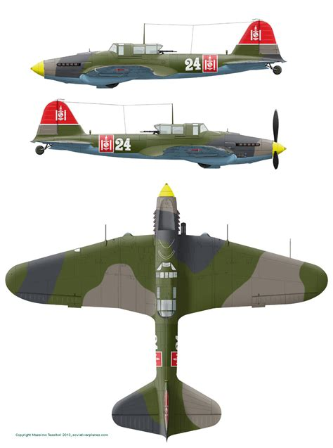 Amig7422 Wwii Soviet Airplanes Green Black Camouflages il 2 camo evolution