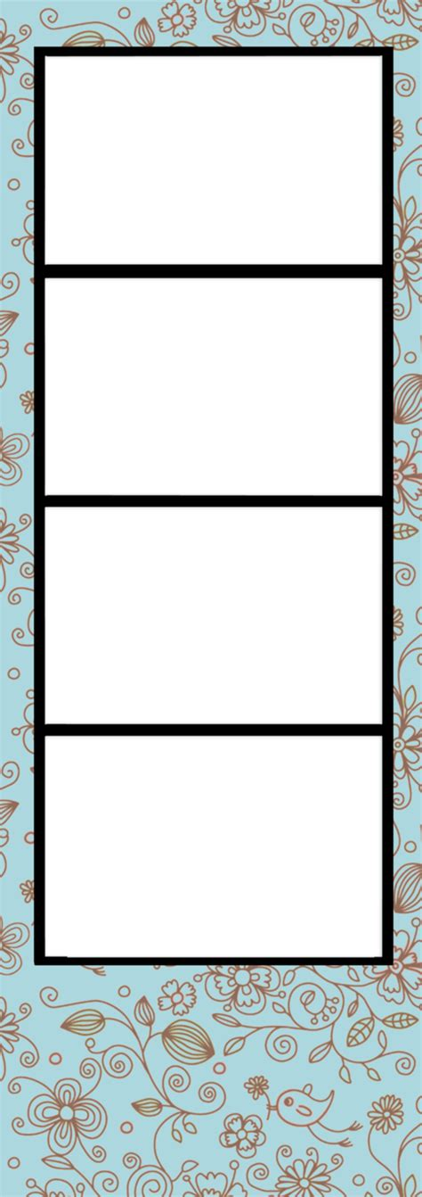 photo booth frame cards template photo booth template by blissfullimaging on deviantart