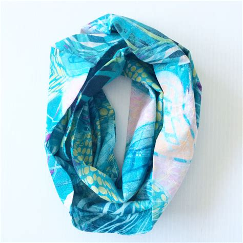100 cotton infinity scarf s 100 cotton japanese infinity scarf or accessory