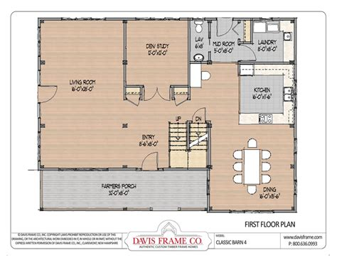 Davis By Ruthie Davis Frame T by Classic Barn Home 4 By Davis Frame Post And Beam Plans