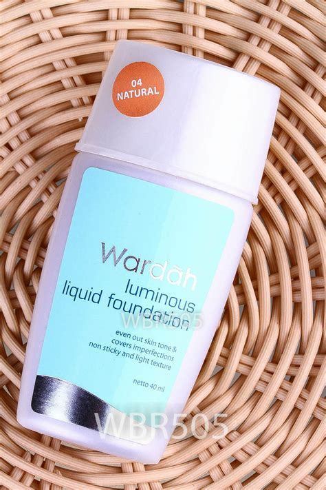 Wardah Luminous Foundation Cover x wardah luminous liquid foundation ebay