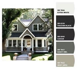 sherwin williams exterior colors 25 best ideas about exterior color schemes on
