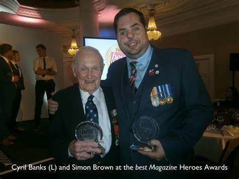 Banks Receives Royal From King by Royal Navy Veteran Receives Award Cobseo