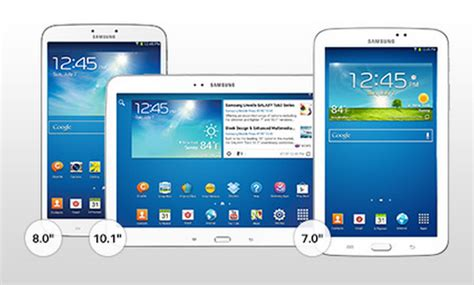 Samsung Tab Family samsung galaxy tab family find out which tablet is for you techwelike