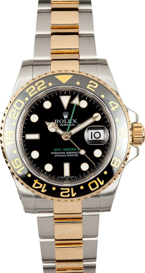 Two Tones two tone rolex gmt master ii 116713 save at bob s watches