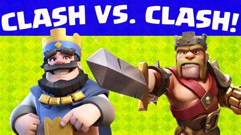 Kaos Clash Royale 01 clash royale vs clash of clans a timing catastrophe clash of clans guide and strategy