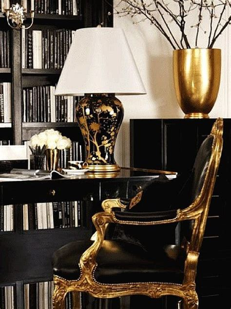 Deco Interior 5365 by Zsazsabydesign Black Out Luxury Office
