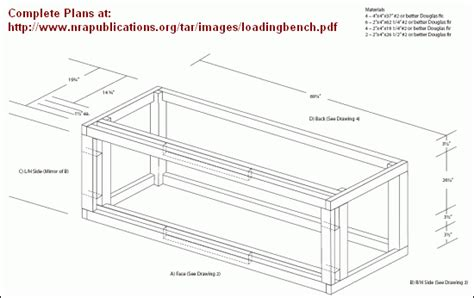 free reloading bench plans free plans for building deluxe reloading bench 171 daily