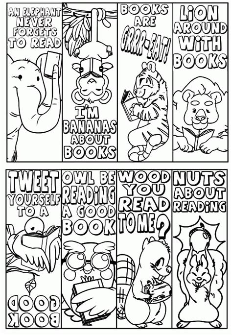 free coloring pages of bookmarks free coloring pages for adults bookmarks az coloring pages