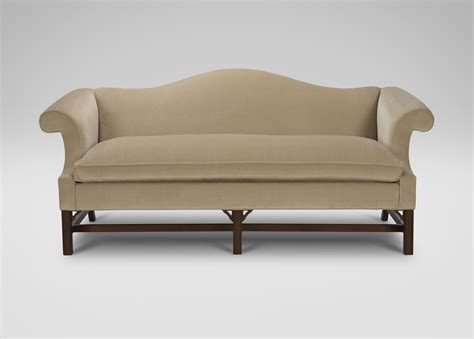 ethan allen slipcover sofa chippendale sofa slipcover chippendale style sofa