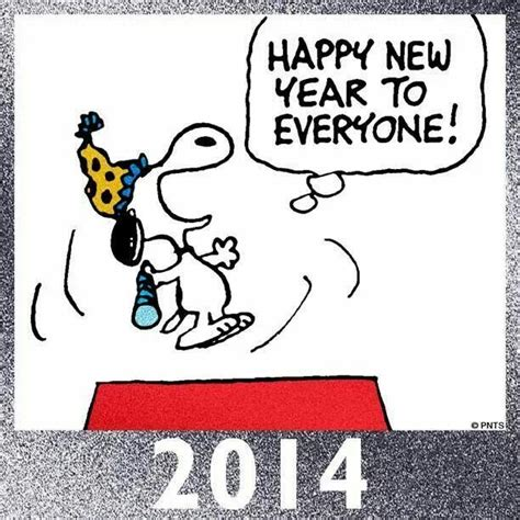 snoopy happy new year snoopy and friends