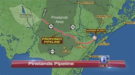 And The City In The Pipeline by Controversy Pipeline In Pinelands 6abc