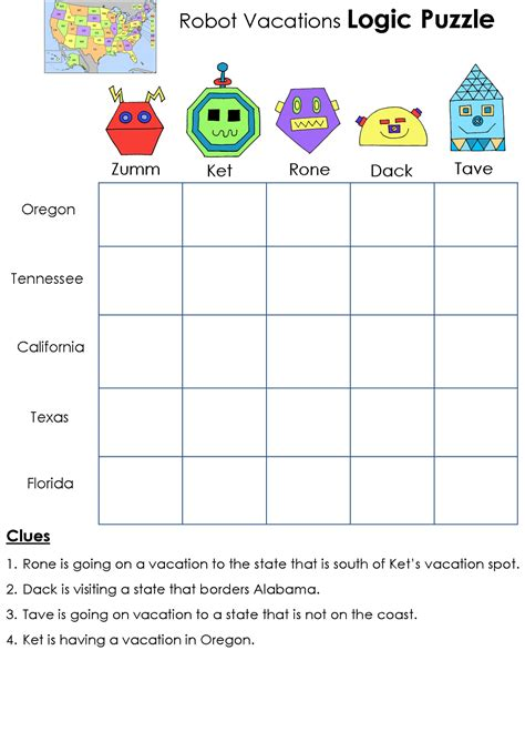 printable logic puzzles for kids math logic puzzles worksheets printable logic puzzles