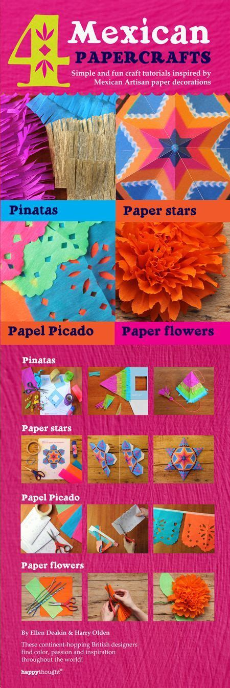 Mexican Paper Crafts - 78 best hispanic heritage lessons crafts images on