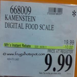 Kamenstein Digital Kitchen Scale by Costco Deal Kamenstein Digital Kitchen Scale 9 99 Frugal Hotspot