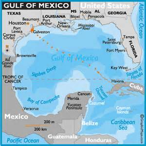 hurricane ike gulf of mexico map mexico maps gulf of